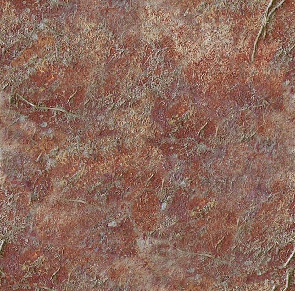 Rust Cement Wall : Red rust concrete wall px opengameart