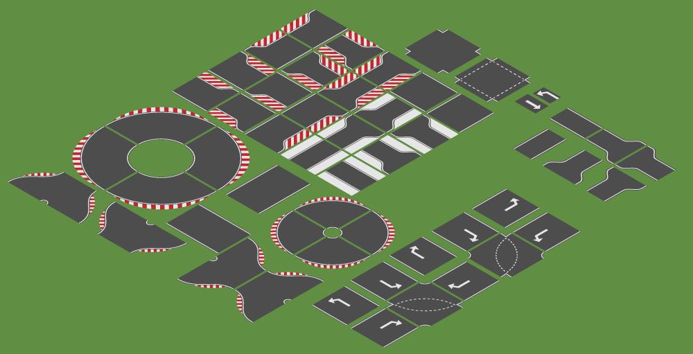 Race Track Tiles | OpenGameArt.org