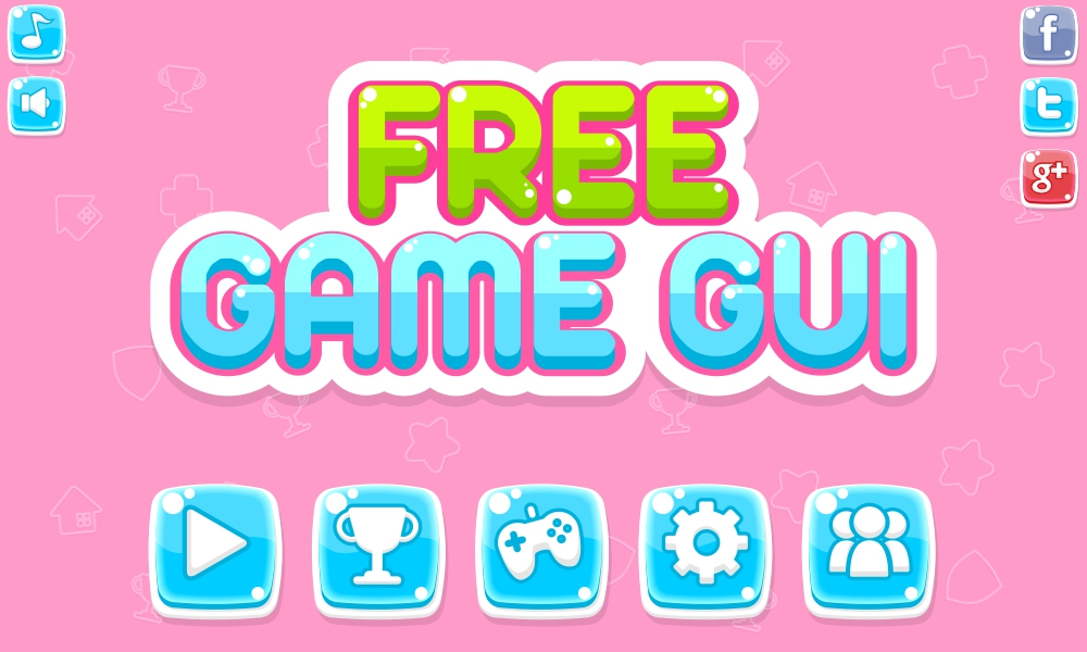 Free Game Gui Opengameart Org
