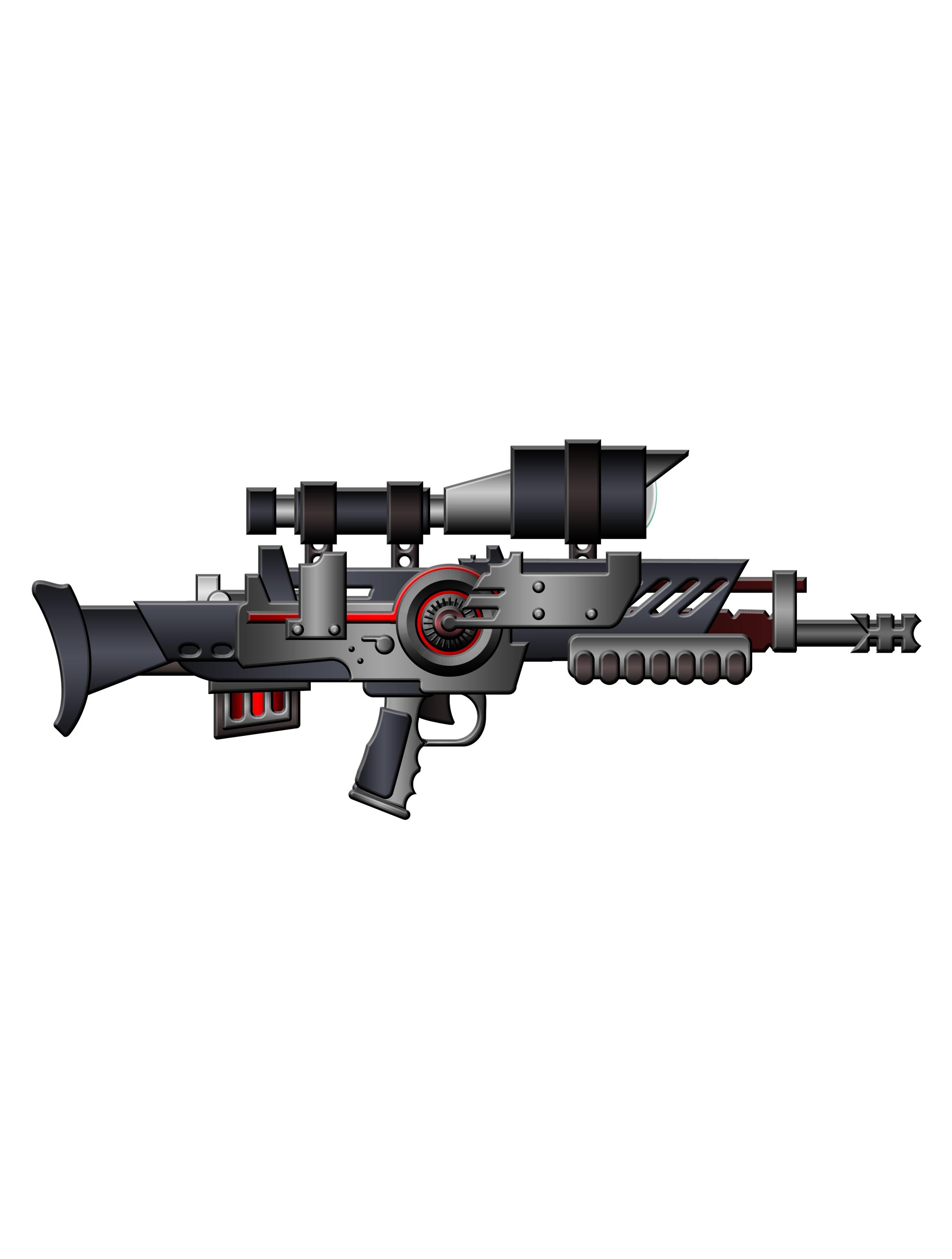 Futuristic Guns | OpenGameArt.org