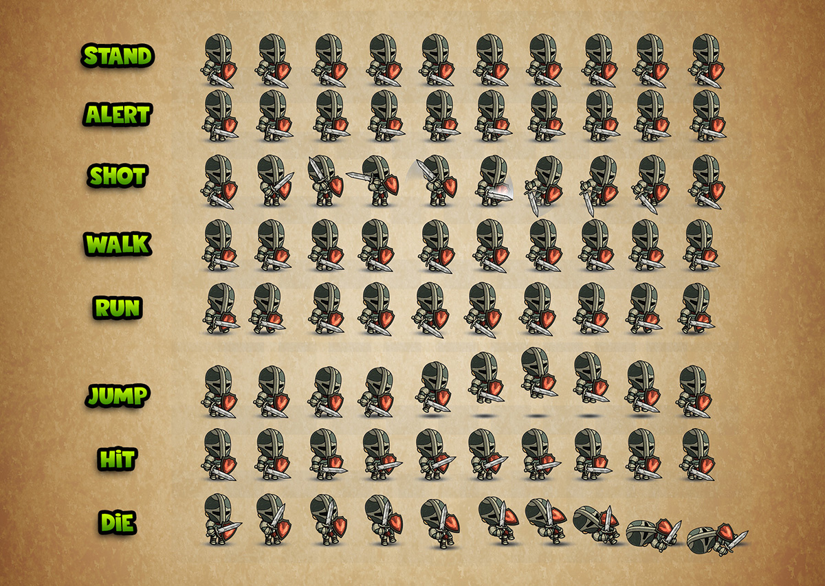Unity 2d Character Sprite Sheet – HD Wallpapers