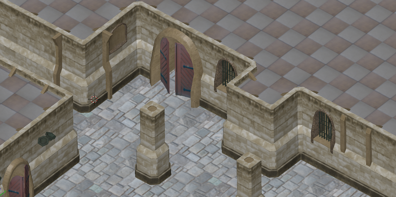 Free 3d Castle Dungeon Tileset Opengameart Org