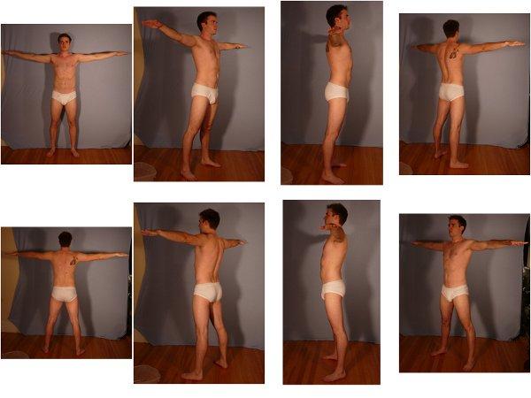 SenshiStock Male Human Reference Packs | OpenGameArt org