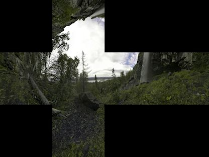 Forest skyboxes | OpenGameArt org