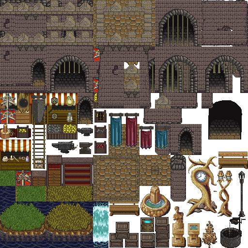 Castle Tiles For Rpg S Opengameart Org