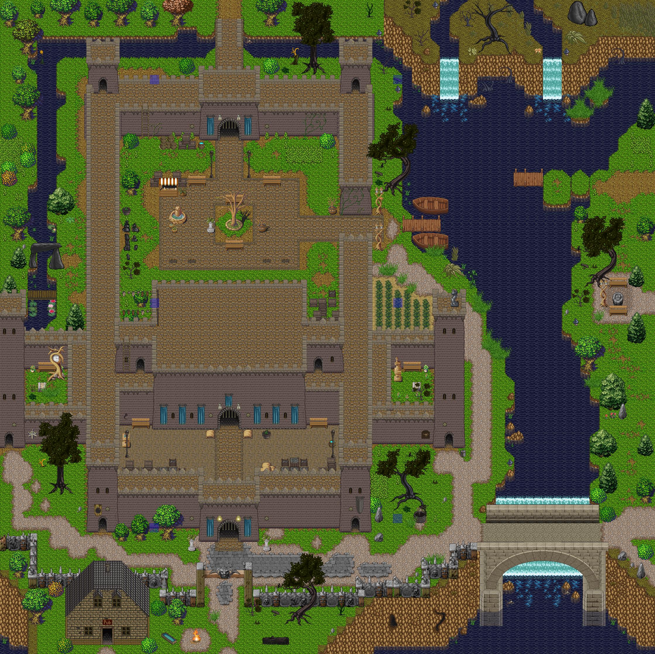 Game Maker Zelda Example