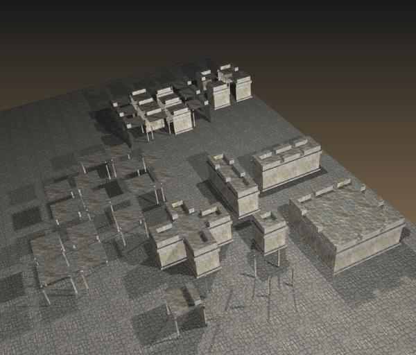 3d Dungeon Tileset Opengameart Org