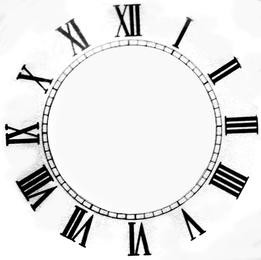 clocks & watches - clockface texture - seamless texture with