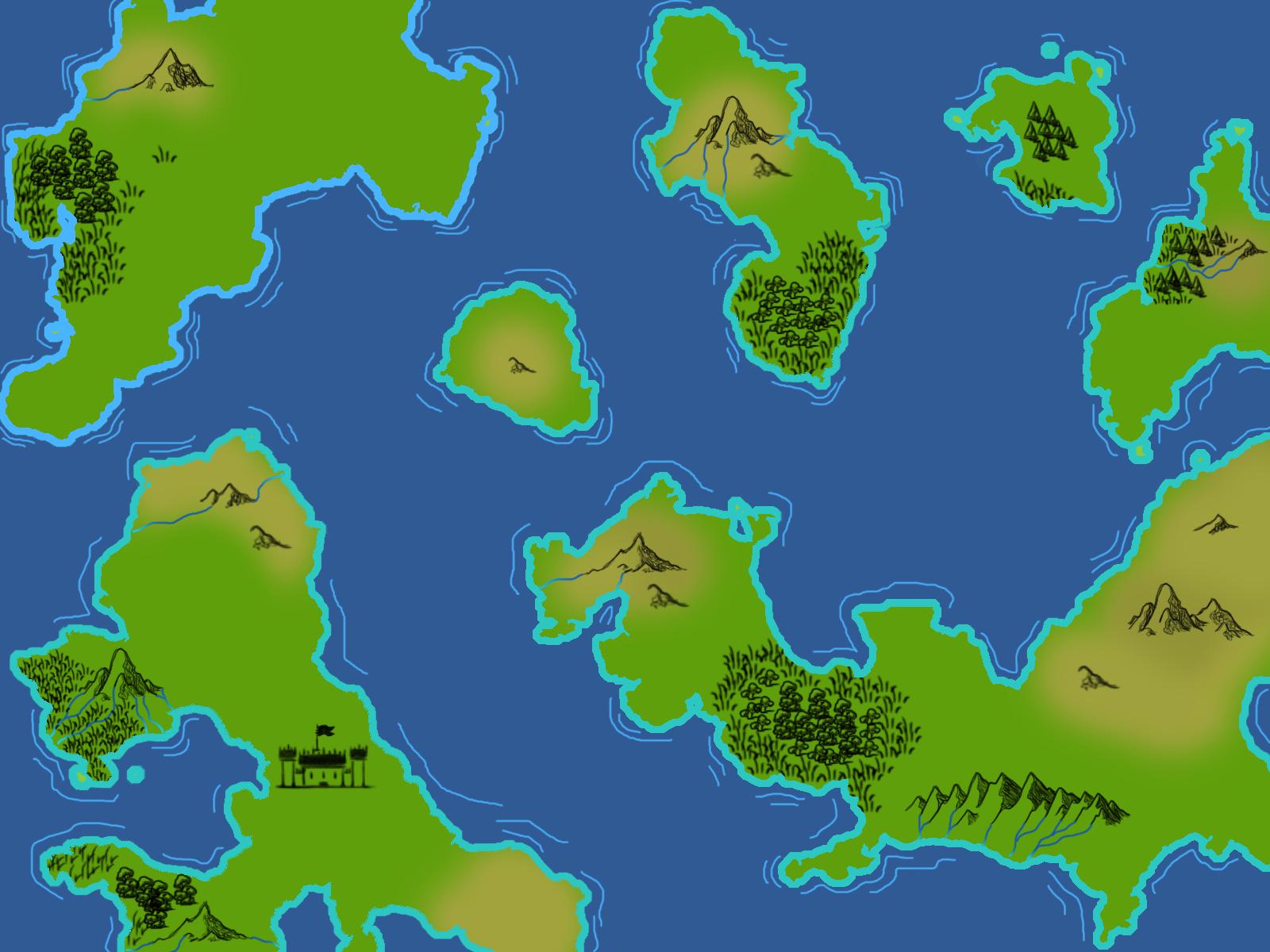 Fantasy World Map | OpenGameArt.org