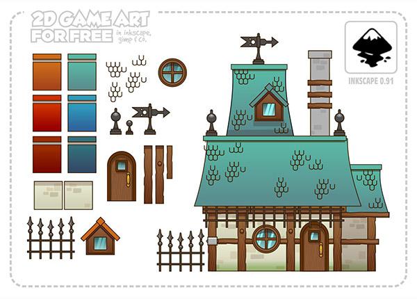 Freeart Resuable Art For Building Houses Opengameart Org