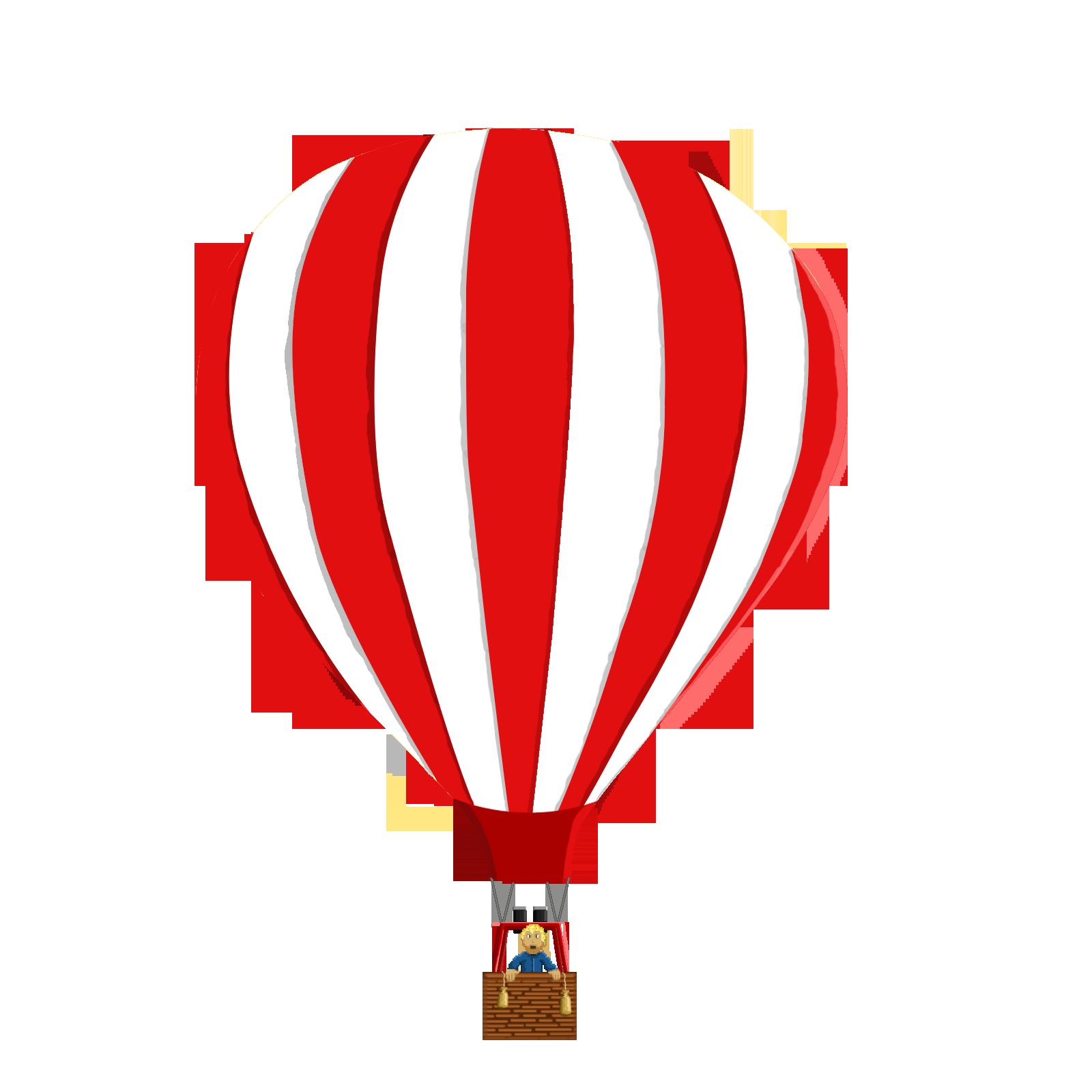 hot air balloon opengameartorg