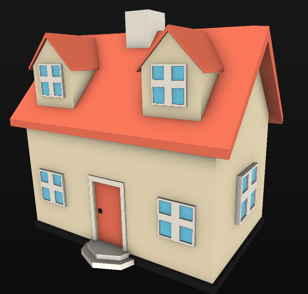 Houses Pack Low Poly V01 Opengameartorg