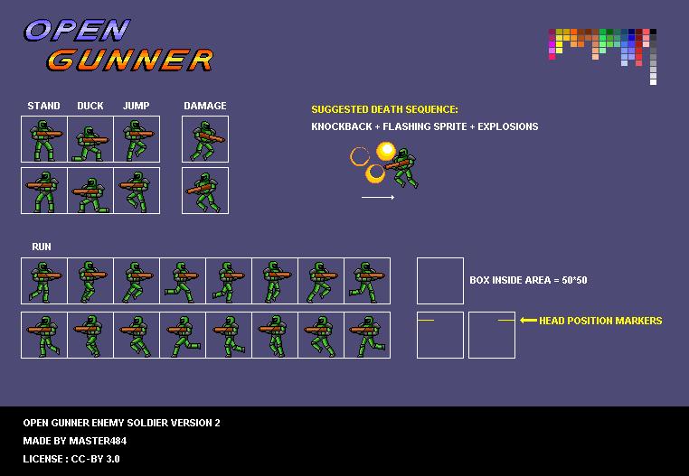 Open Gunner Starter Kit Opengameartorg