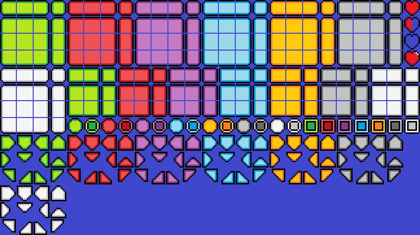 pixel ui  hud pack