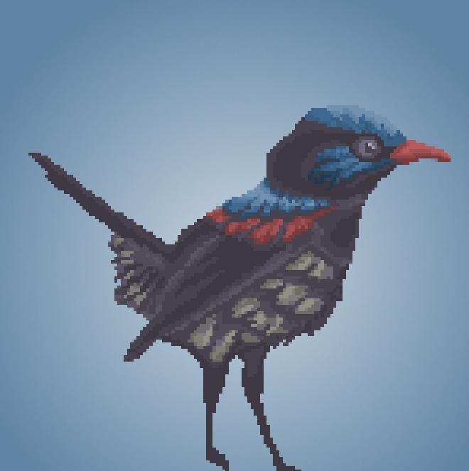 64x64 Pixel Art: Pixel Bird | OpenGameArt org