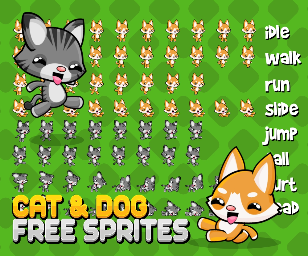 Dog And Cat Fighting Games