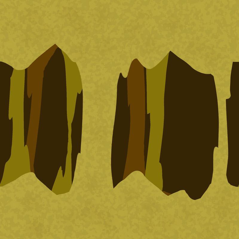 seamless parallax cave background