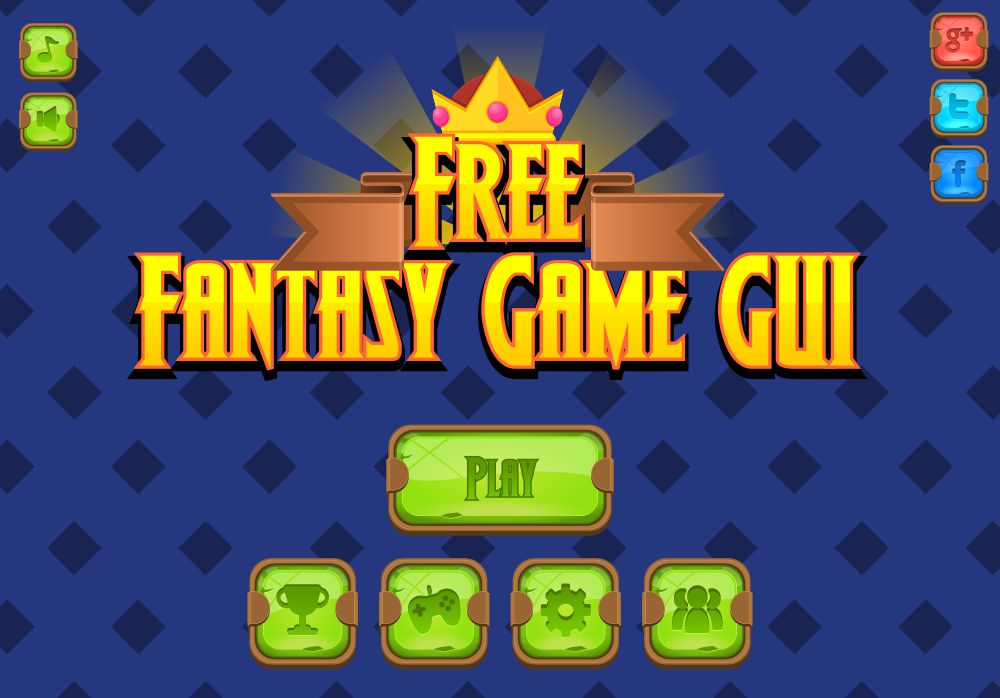 Free Fantasy Game GUI | OpenGameArt.org