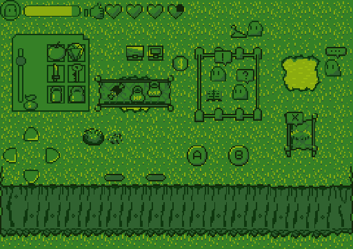 Assorted Game Boy Themed Sprites   OpenGameArt org