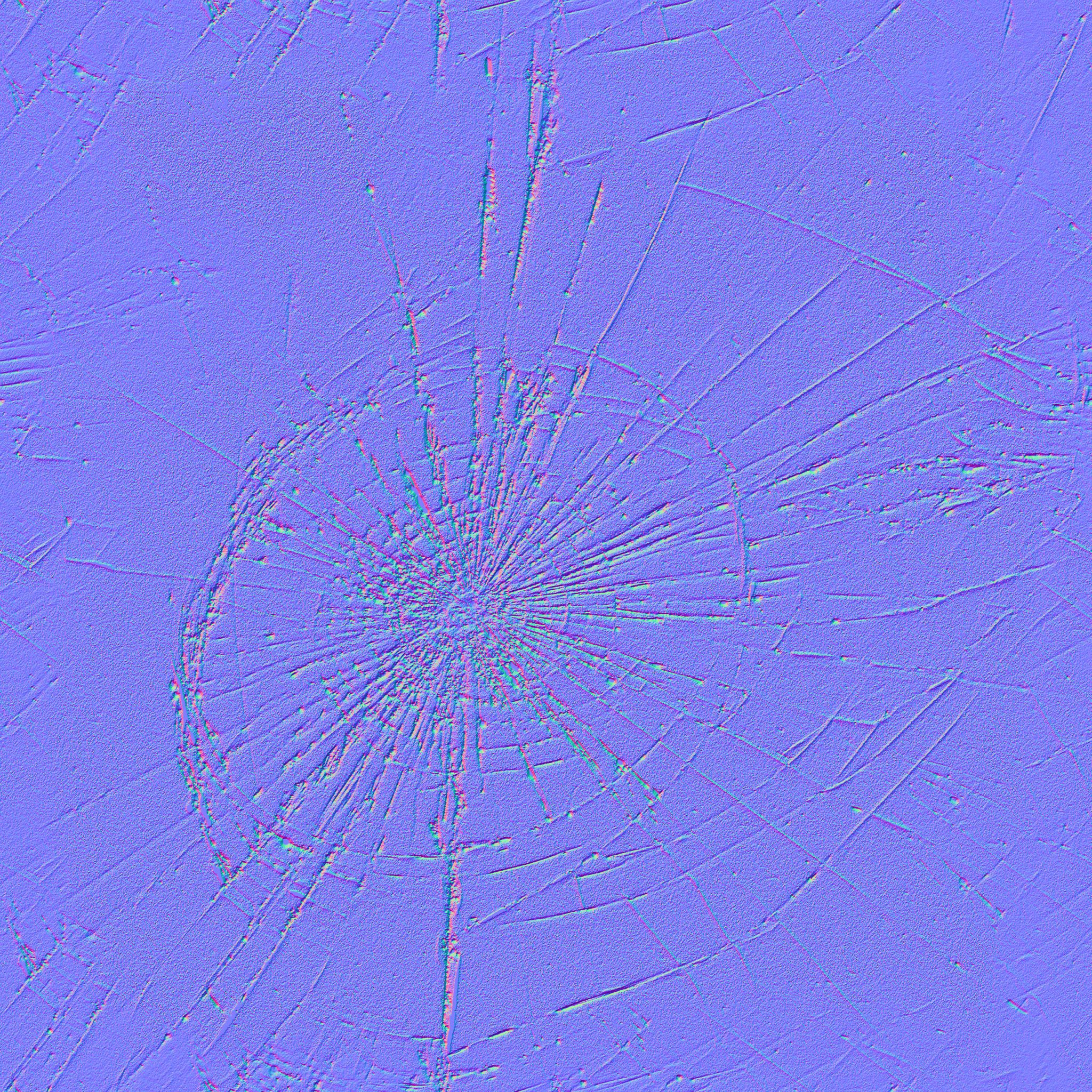 broken glass batch of 7 seamless textures with