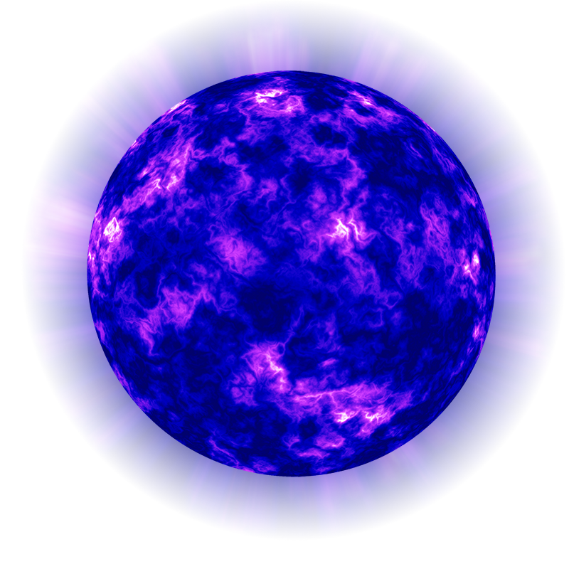 purple and blue planets - photo #20
