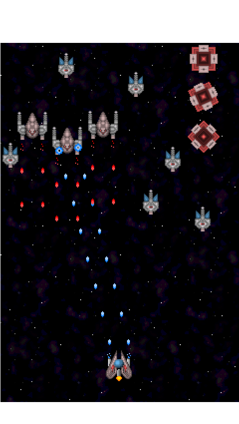 space shooter sprites opengameartorg