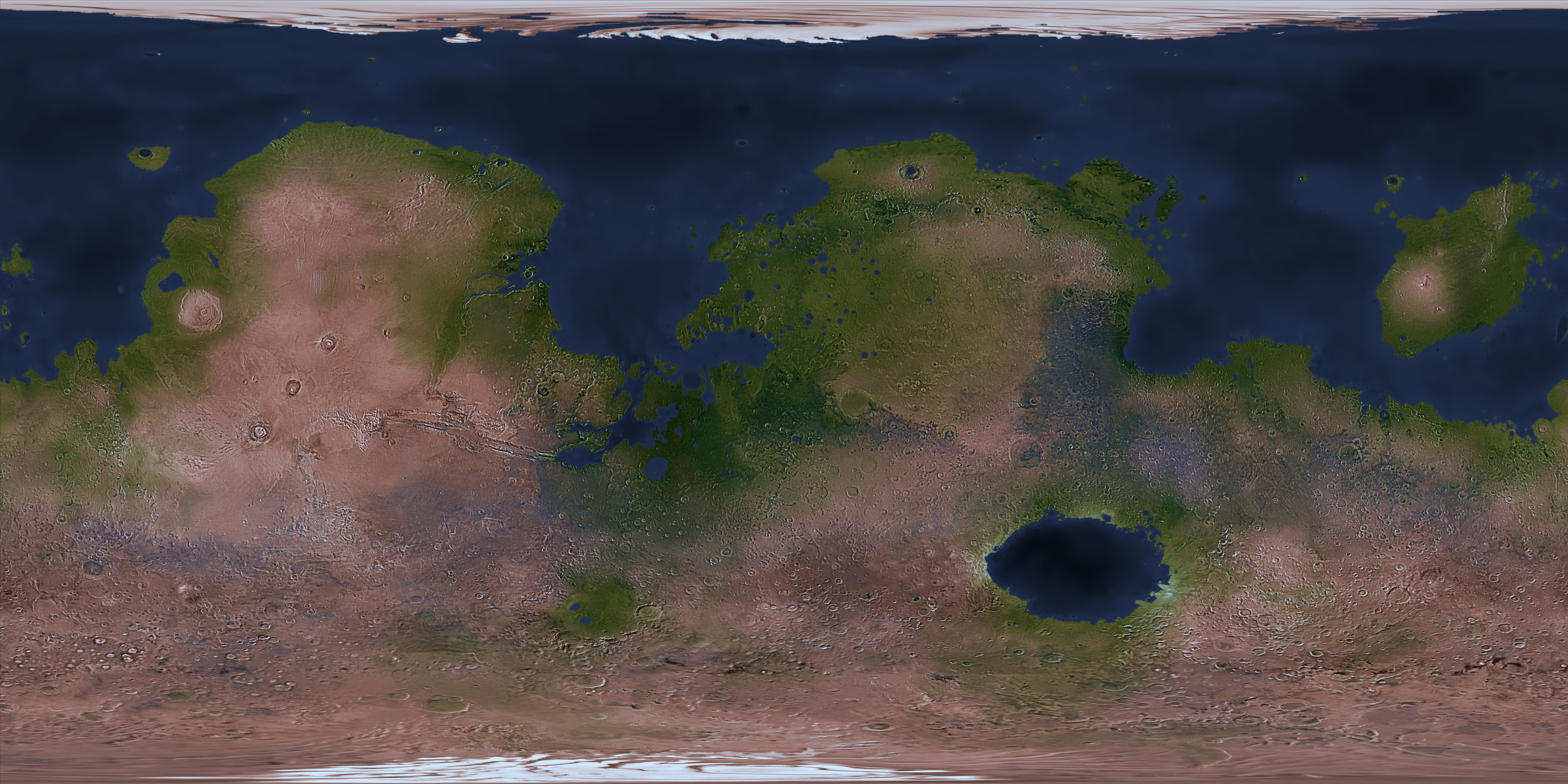 map of a, map of all, map or, on map of terraformed an
