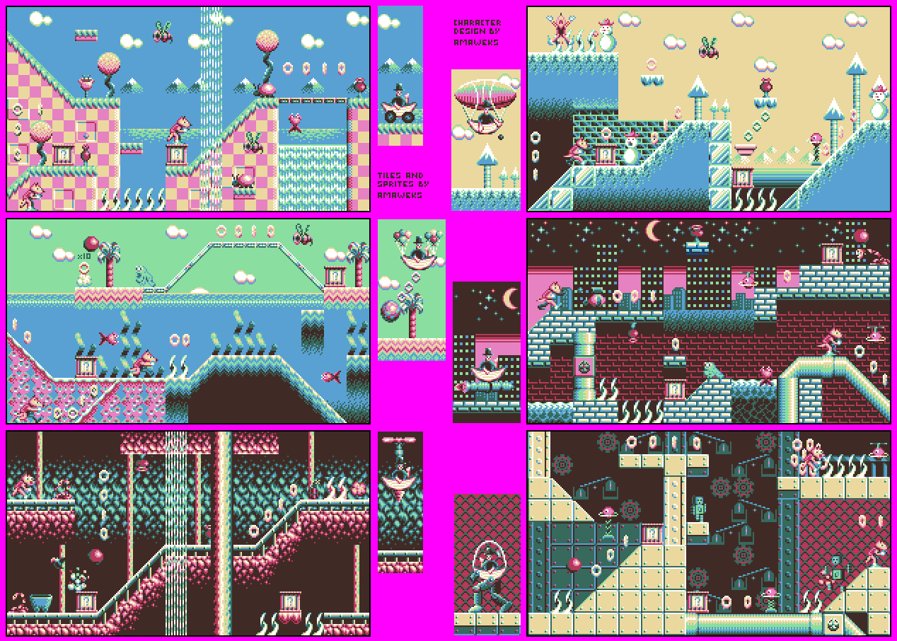 8 Color Full Game Sprite Amp Tiles Opengameart Org