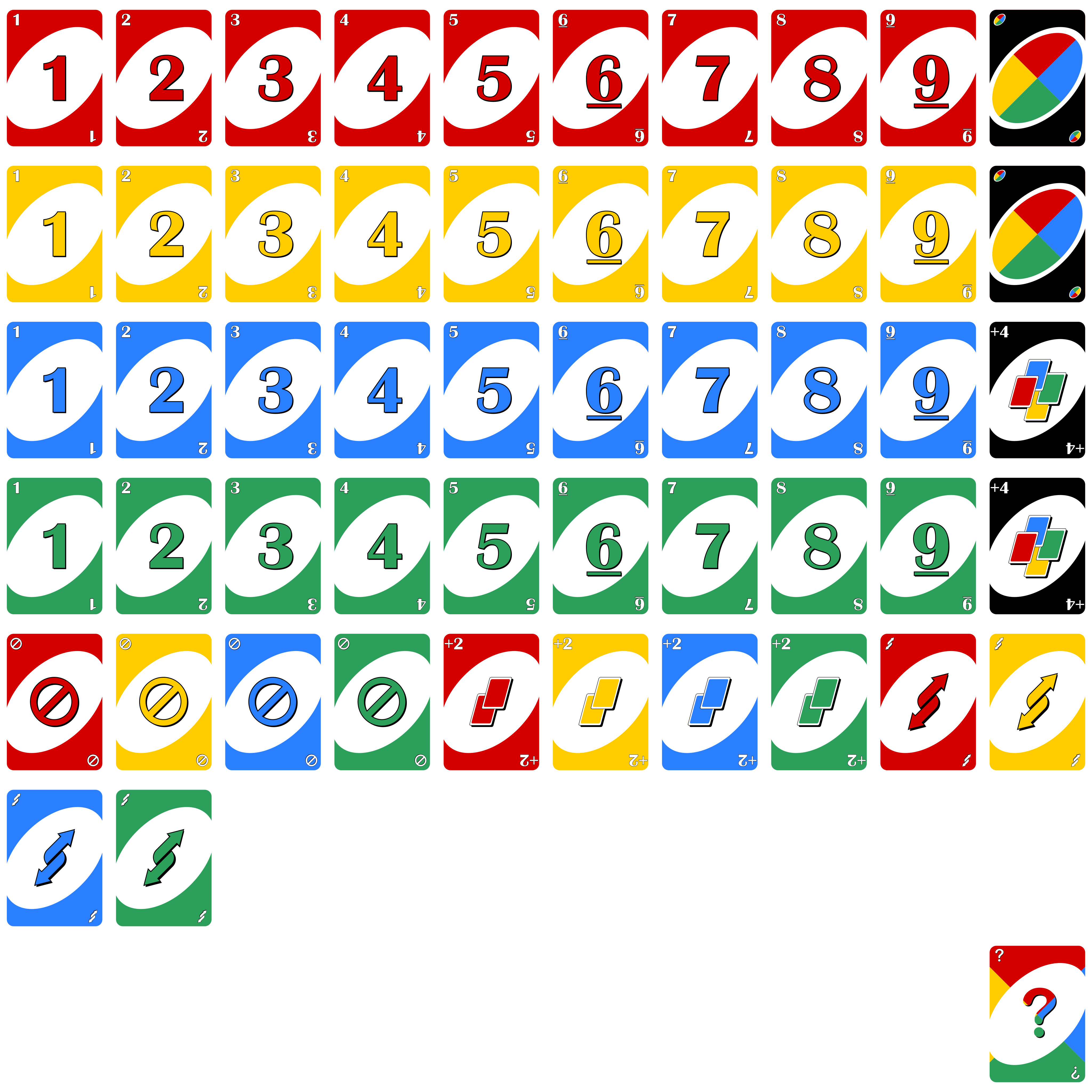 Current image with printable uno cards pdf