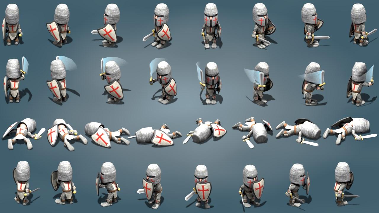 Isometric: Mini-Crusader | OpenGameArt org