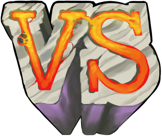 Versus VS Graphic For Fighting Game OpenGameArt Org