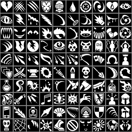 700 Rpg Icons Opengameart Org