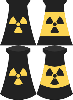 Nuclear Power Plant Symbols Svg Opengameart Org
