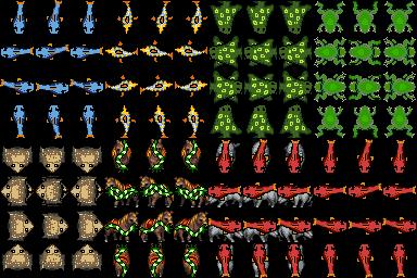 Fish Sprite Sheet Opengameart Org