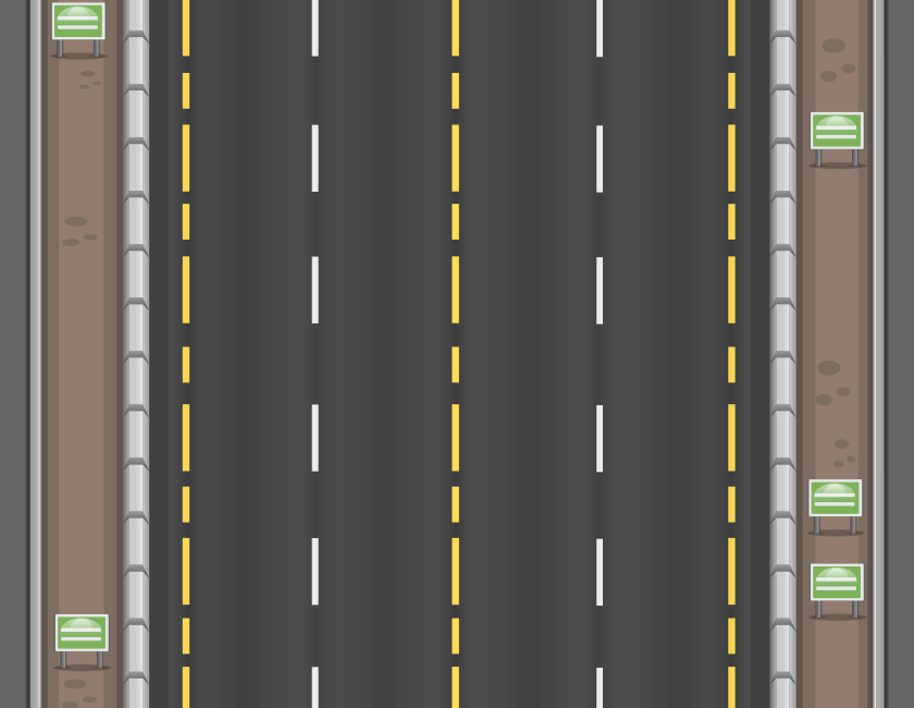 2d Top Down Highway Background Opengameart Org