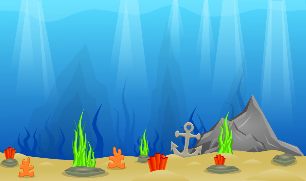 2d Background Underwater Opengameart Org