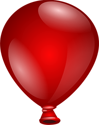 Free Free Party Balloons PSD, PNG and JPG