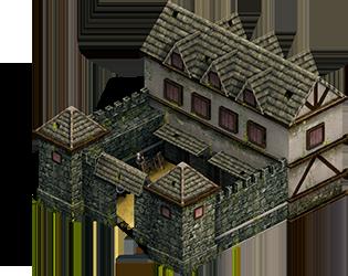 Medieval Barracks (Isometric 2.5D)   OpenGameArt.org