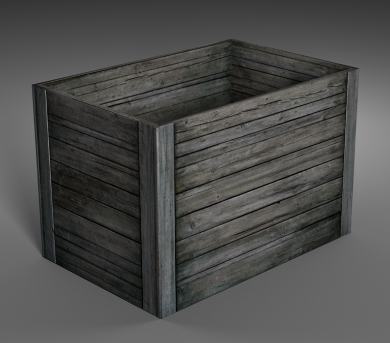 wooden box open opengameart org