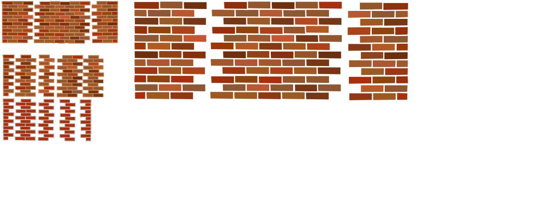 Brick Patterns Opengameart Org