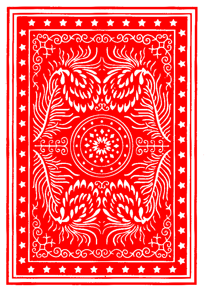 Colorful Poker Card Back | OpenGameArt.org