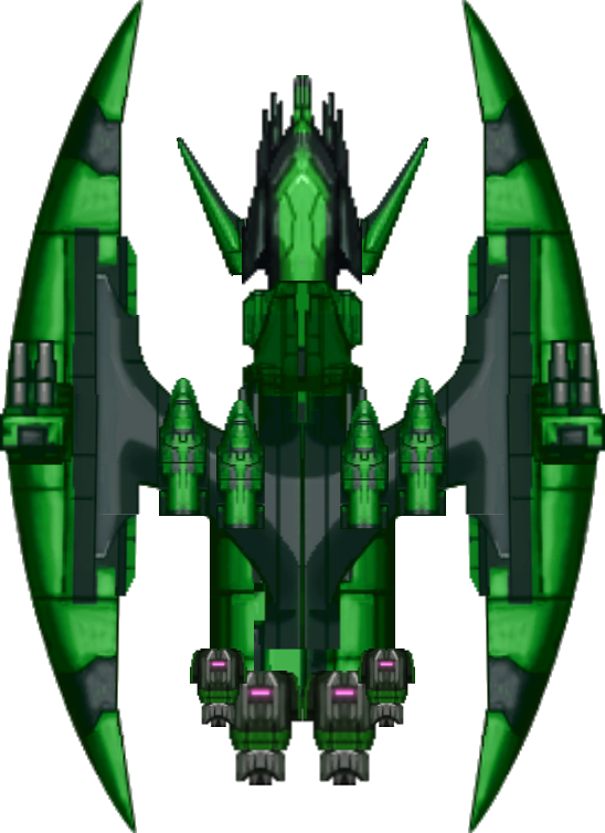 2D Spaceship 10 | OpenGameArt.org