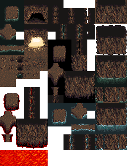 Cave tileset | OpenGameArt org