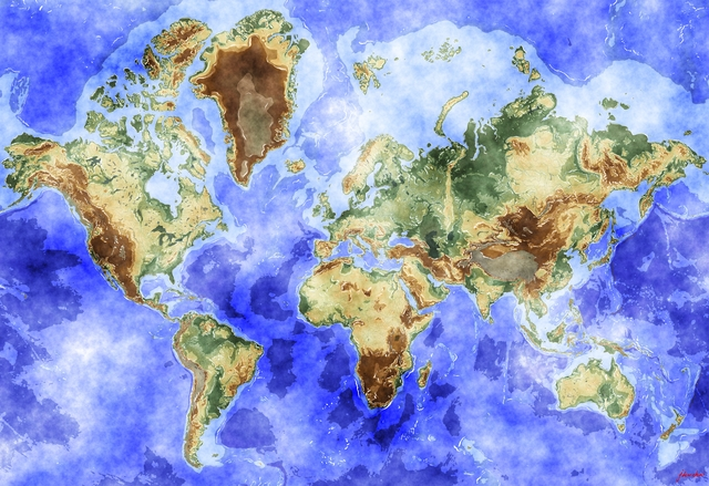 Watercolor world map opengameart preview gumiabroncs Choice Image