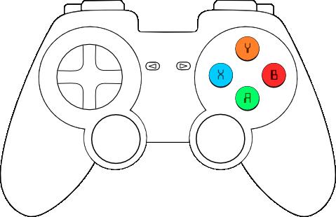 generic gamepad template opengameart org