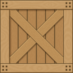 Pixel Wooden Crate Opengameart Org