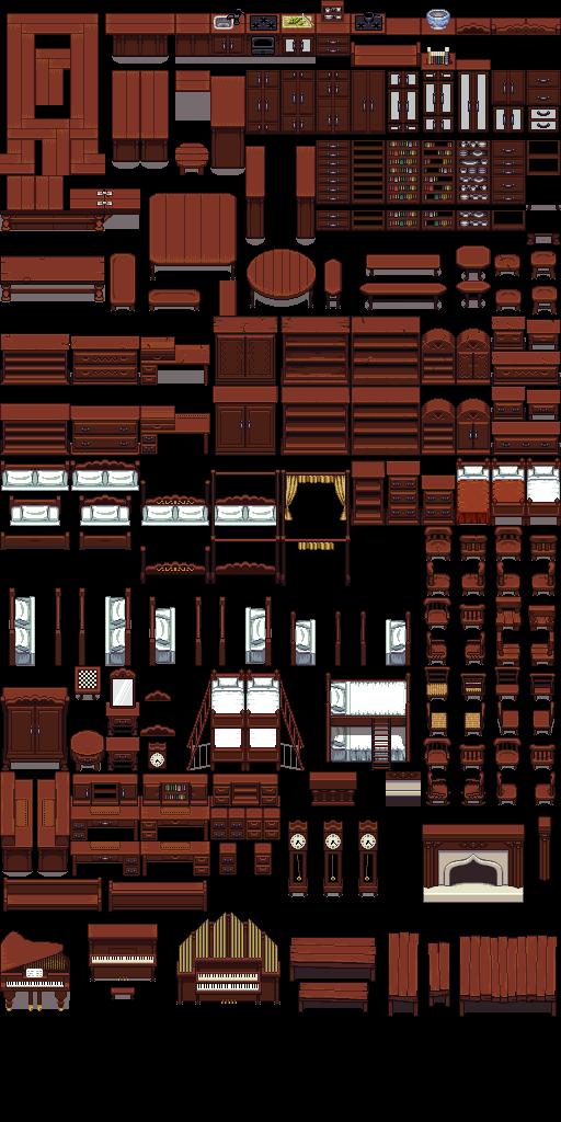 Lpc Wooden Furniture Opengameart Org