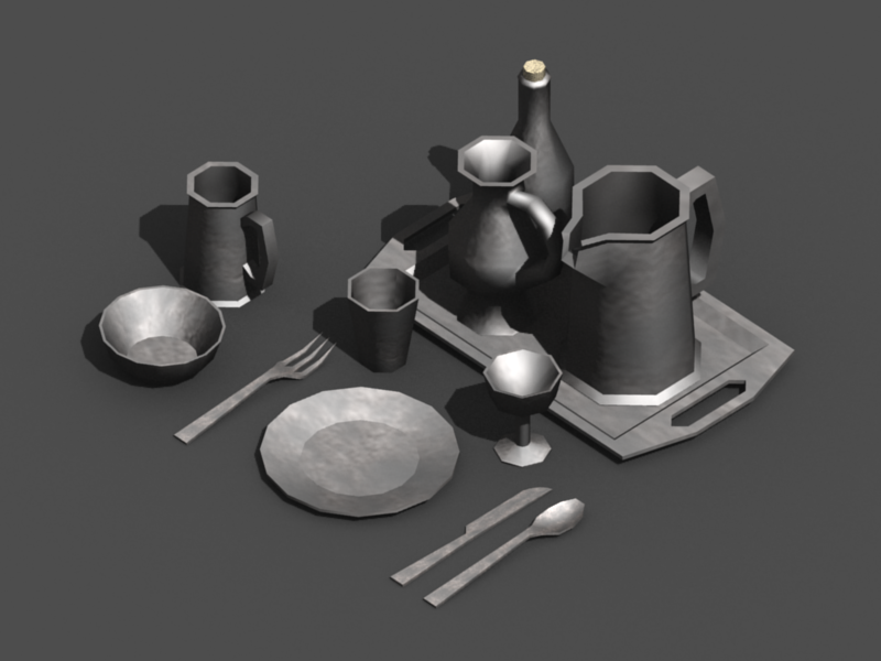 Preview & Dinnerware | OpenGameArt.org