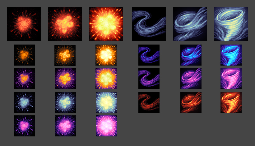 Painterly Spell Icons Part 3
