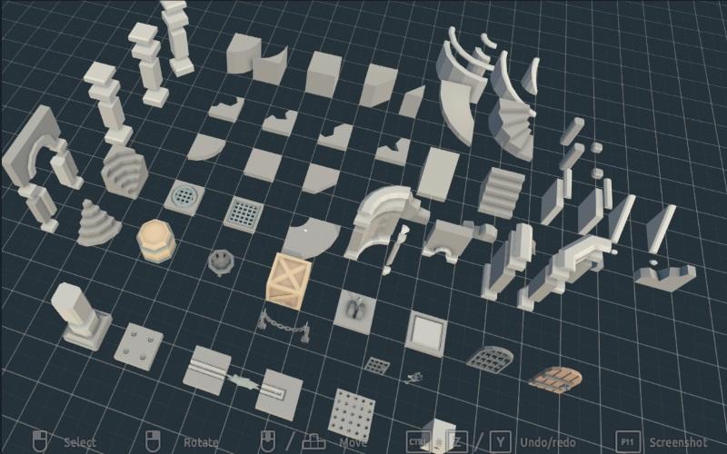 Modular Dungeon 2 - 3D Models | OpenGameArt org